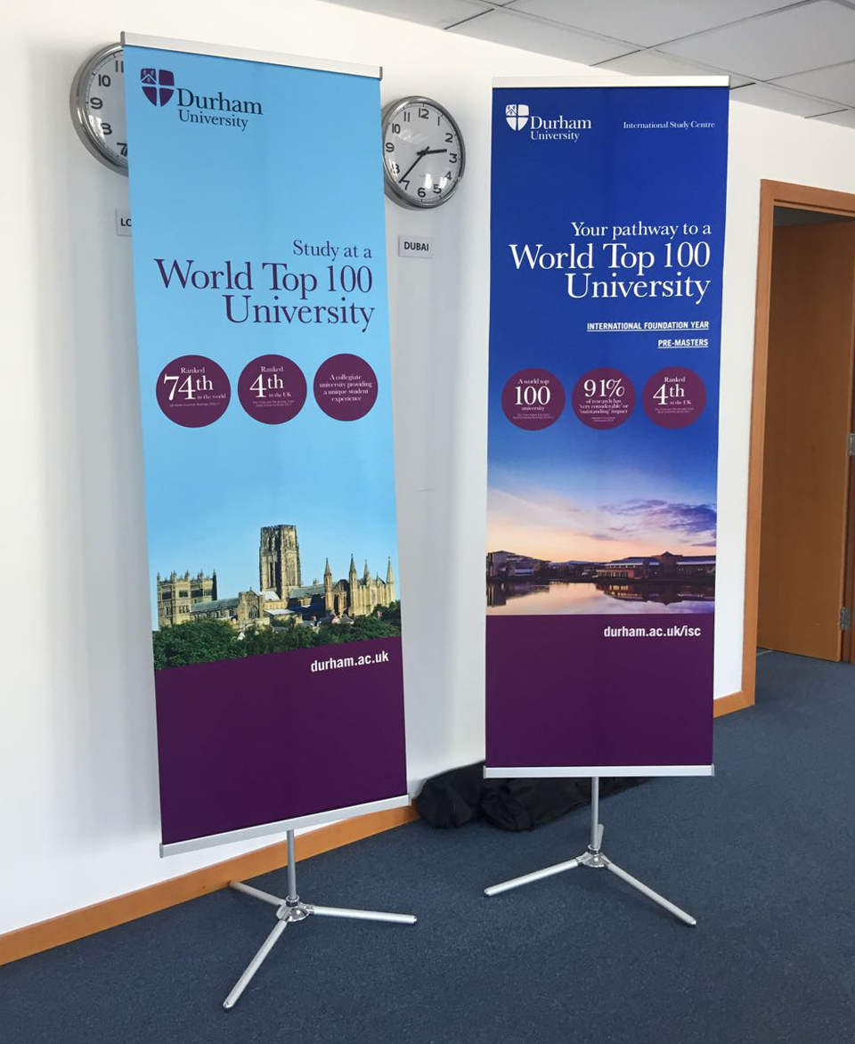 Special Rollups for Durham University